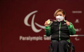 Amalia Pérez amplió su leyenda en los Juegos Paralímpicos. (Foto: Conade).