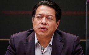 Mario Delgado pide que no haya veda electoral para AMLO en la revocación de mandato