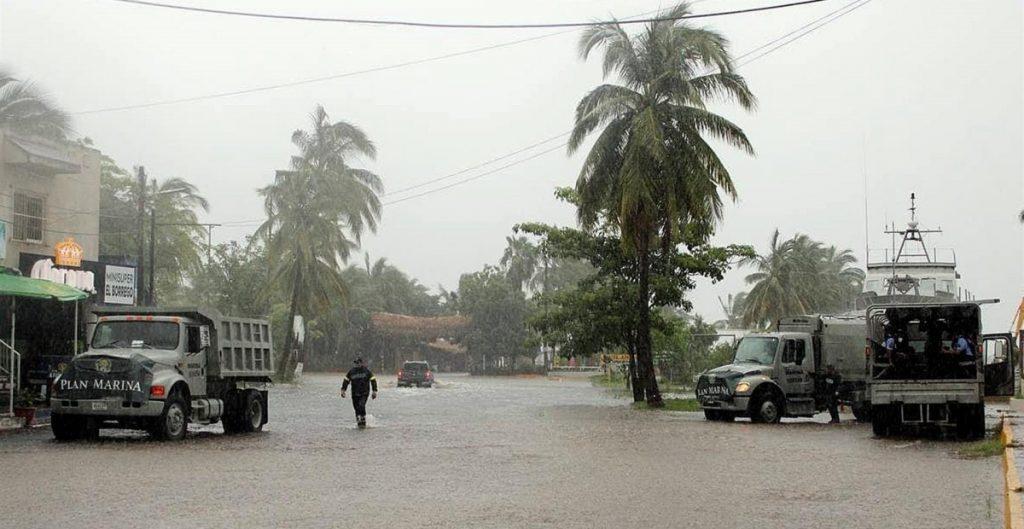 """Nora"""" se degrada a baja presión remanente; prevén lluvias en 8 estados"""