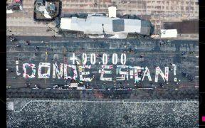 Colectivos piden a AMLO la búsqueda de 90 mil desaparecidos en México