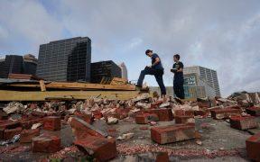 Huracán destruye un símbolo del jazz en Nueva Orleans; un lugar centenario en el que Louis Amstrong trabajó