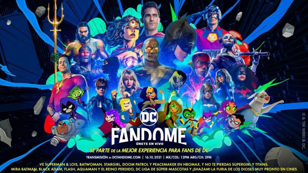 La DC Fandome volverá en octubre con adelantos de 'The Batman', 'Aquaman 2', 'Black Adam' y 'The Flash'