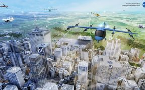 La NASA inicia prueba de taxis aéreos para descongestionar las vías