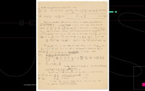 A subasta un manuscrito de Einstein sobre la teoría de la relatividad