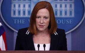 """""""Usted nunca ha estado embarazado"""", dice Psaki a periodista que cuestionó postura de Biden sobre el aborto"""