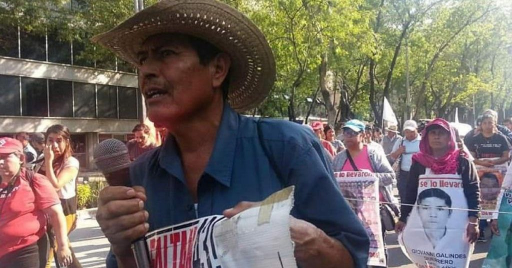 Fallece padre de uno de los 43 normalistas desaparecidos de Ayotzinapa