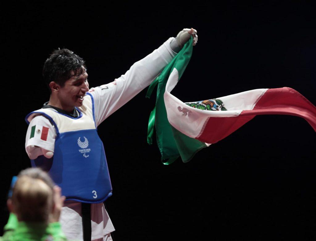 García logró la medalla 21 para México en Tokio 2020. (Foto: Conade).