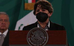 Morena señala al INE de sancionarlo de forma dolosa por multa de caso de Delfina Gómez; anuncia impugnación con el TEPJF