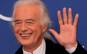 Jimmy Page llega a Venecia para presentar 'Becoming Led Zeppelin'