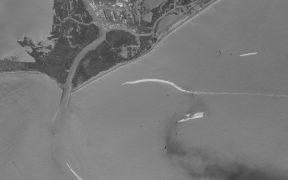 """Una tubería rota, fuente de derrame de petróleo en el Golfo de México tras paso de """"Ida"""""""