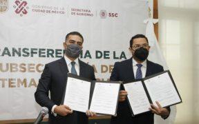 Gobierno de CDMX y Secretaría de Seguridad Ciudadana inician transferencia del sistema penitenciario