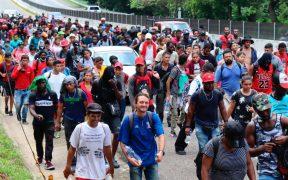"""MSF alerta de situación """"insostenible"""" para miles de migrantes en México"""