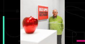 Murió el artista Billy Apple, ícono del arte pop neozelandés; exhibió sus obras junto a Warhol y Linchtenstein