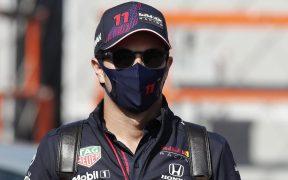 'Checo' Pérez se mostró optimista de cara al Gran Premio de Italia. (Foto: Reuters).