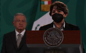 """AMLO asegura que la decisión de multar a Morena por las aportaciones a Delfina """"es porque ya ven a la secretaria como candidata"""""""