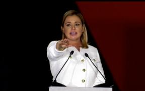 Maru Campos asume como gobernadora de Chihuahua