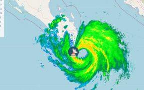 Ojo del huracán 'Olaf' toca tierra en Los Cabos, BCS