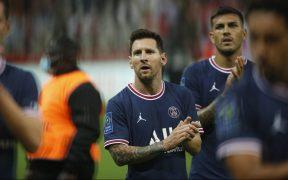 Messi no será convocado ante el Clermont. (Foto: EFE).