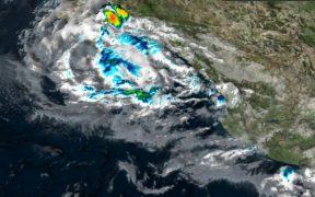 """""""Olaf"""" se convierte en tormenta tropical en costas de Baja California Sur"""