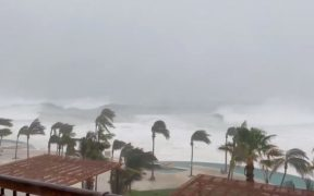 Huracán 'Olaf' dejó sólo daños materiales a su paso por Baja California Sur