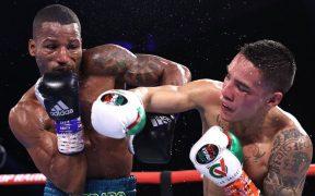 Valdez retuvo el título ante el brasileño Conceicao. (Foto: @BoxingInsider).