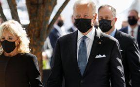 """Biden pide """"demostrar que las democracias funcionan"""" al conmemorar el 11S"""