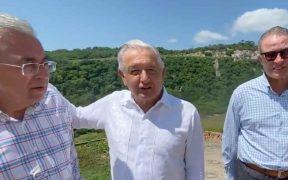 AMLO supervisa presas en Sinaloa junto a Quirino Ordaz y Rubén Rocha