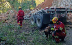 """Lluvias provocadas por """"Olaf"""" causan derrumbe y un muerto en Jalisco"""