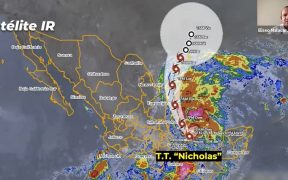 """Tormenta tropical """"Nicholas"""" causará afectaciones en Veracruz y Tamaulipas; instalan más de 2 mil albergues temporales"""