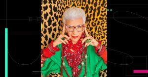 H&M lanzará una colección con Iris Apfel a sus 100 años
