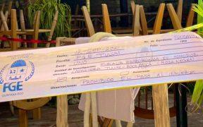 Asesinan a dos personas en un restaurante en zona costera de Tulum; fiscalía investiga el crimen