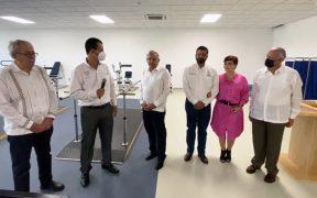 AMLO entrega recursos federales a Teletón; afirma que es la primera asociación civil en recibir apoyo