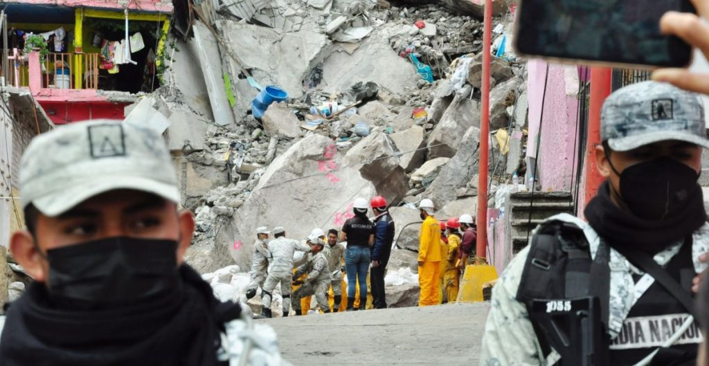 Labores de rescate y evacuación del cerro del Chiquihuite continúan en Edomex