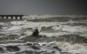 """""""Nicholas"""" se convierte en huracán categoría 1 y mantiene su ruta hacia Texas"""