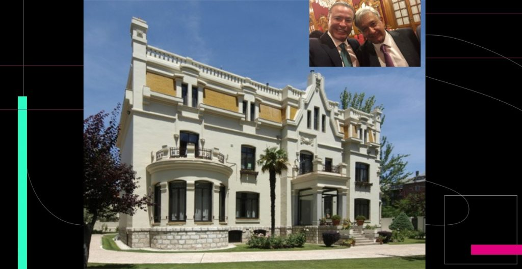 La embajada de lujo para Quirino