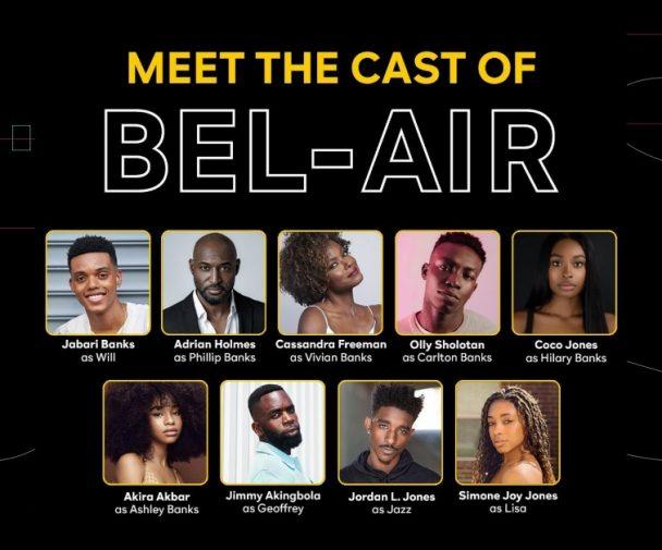 La nueva adaptación del 'Príncipe del Rap' presenta su elenco