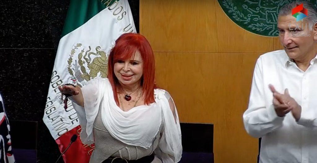 Layda Sansores toma posesión como gobernadora de Campeche