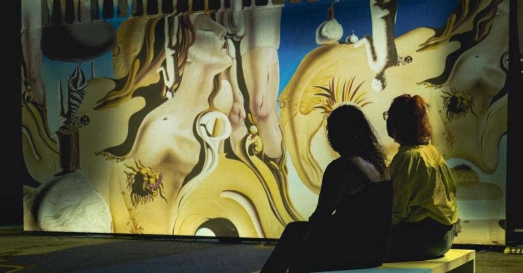 La exposición 'Inside Dalí' fue presentada en Florencia; muestra la obra del artista con tecnología digital