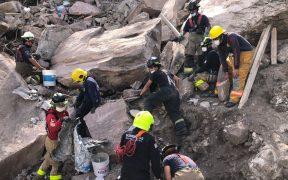 Reducen equipos de búsqueda en el cerro del Chiquihuite por riesgos