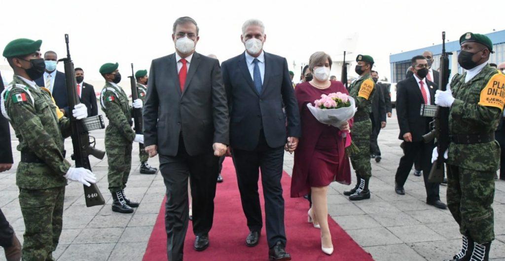 """""""Es un honor llegar a la entrañable tierra azteca"""", dice Díaz-Canel ante visita a México por festejos patrios y cumbre de CELAC"""