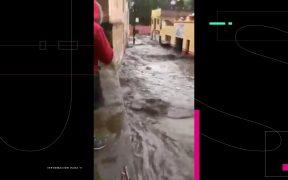 Presa San Aparicio en Zacatecas se desborda por fuertes lluvias; Sedena activa Plan DNIII-E
