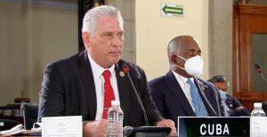 """Díaz-Canel denuncia la """"oportunista campaña de descrédito"""" que EU mantiene sobre Cuba"""
