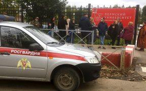 Tiroteo en universidad de Rusia deja al menos 8 muertos y 28 heridos