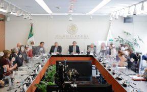 """Adán Augusto, titular de Segob, se reúne con senadores; fue """"buen ejercicio"""", dice Monreal"""