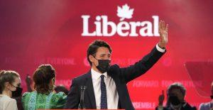 Partido Liberal de Trudeau en Canadá gana la elección, pero no la mayoría en la Cámara