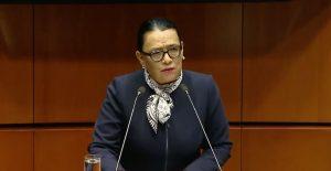 """""""No venimos a ganar una guerra"""", asegura Rosa Icela ante el Senado"""