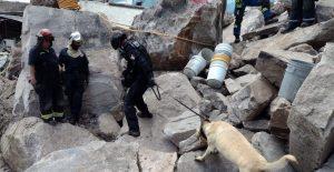 Recuperan los últimos dos cuerpos que estaban bajo los escombros en el cerro del Chiquihuite