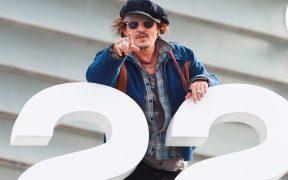 ''Nadie está a salvo de la cultura de la cultura de la cancelación''; Johnny Depp en San Sebastián