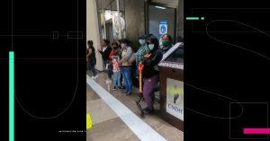Víctimas y familiares toman instalaciones de la CNDH; denuncian filtración de sus expedientes