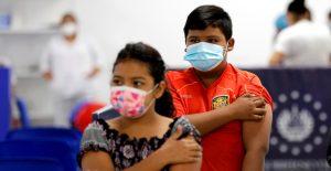 El Salvador comienza a vacunar contra la Covid-19 a menores de entre 6 y 11 años
